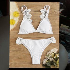 White Lace Bikini (brand new)